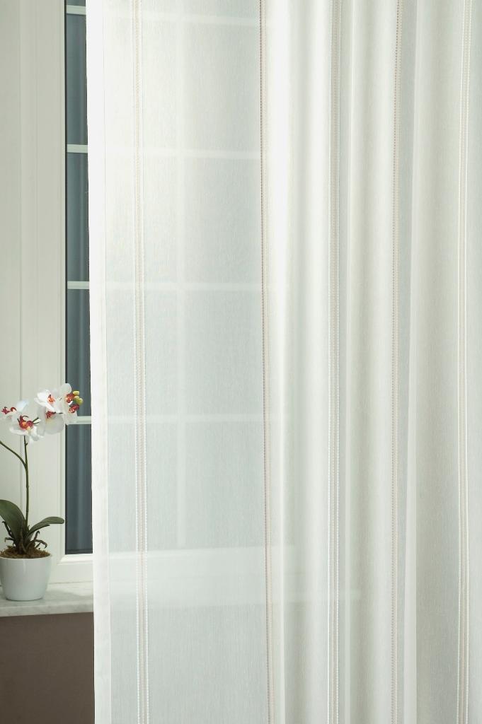 Sablé átlátszó függönyök