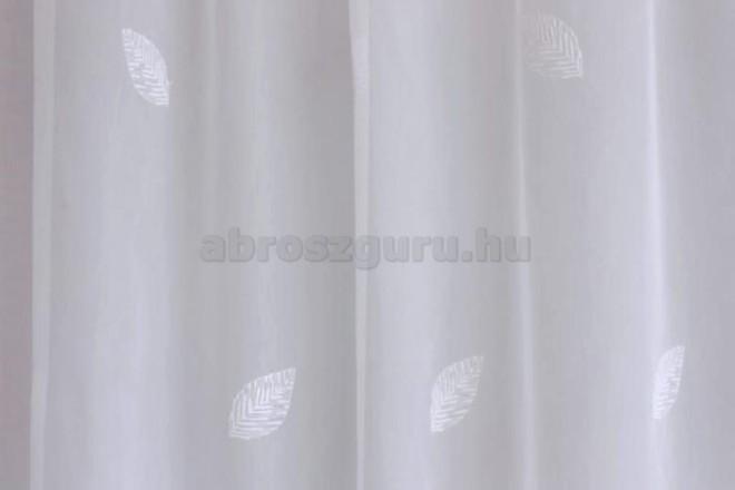 Hímzett sable-PA 530 01 fehér mintával-hímzés 277 cm-ig