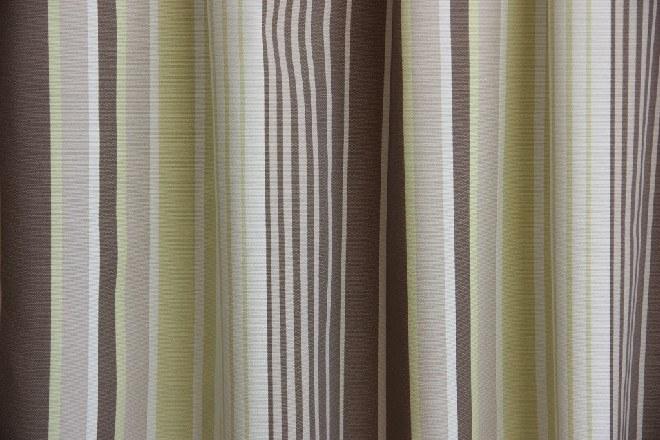 Azov Hanna B05 barna-bézs csíkos dekosszövet oldalsál
