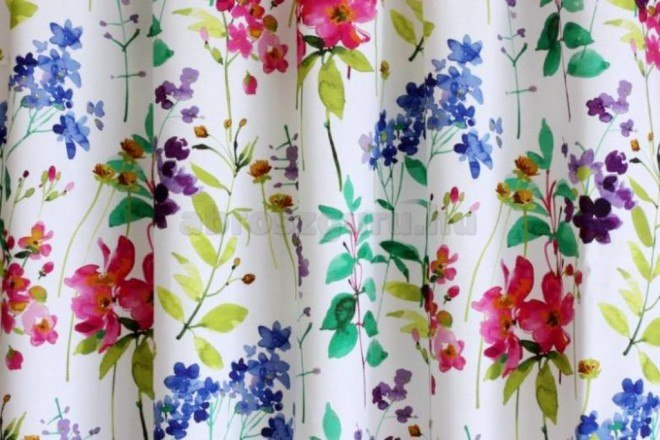 Cotonello Divine festett dekor-B05 drapéria