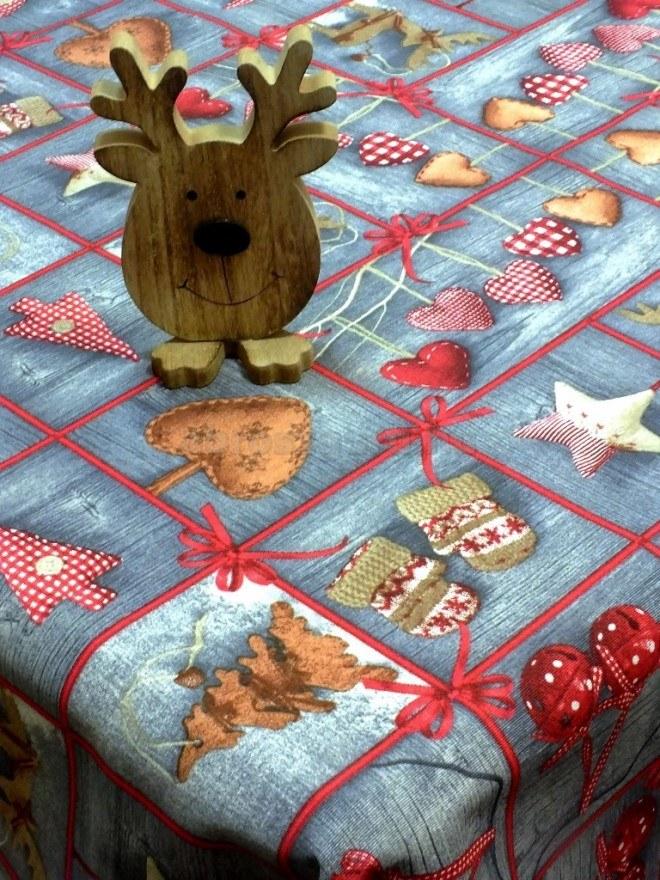 Csingiling karácsonyi vászon terítő