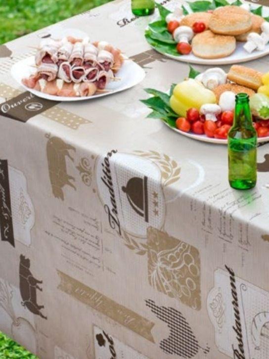 Gastronomy viaszos vászon terítő-5733420