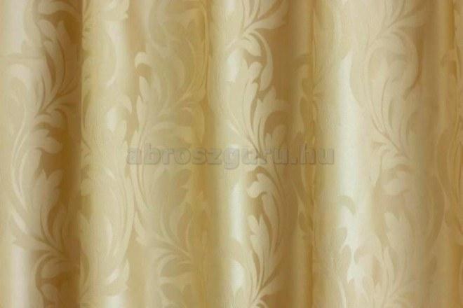 Gery brokát jellegű dekor-03 Bézs sötétítő függöny