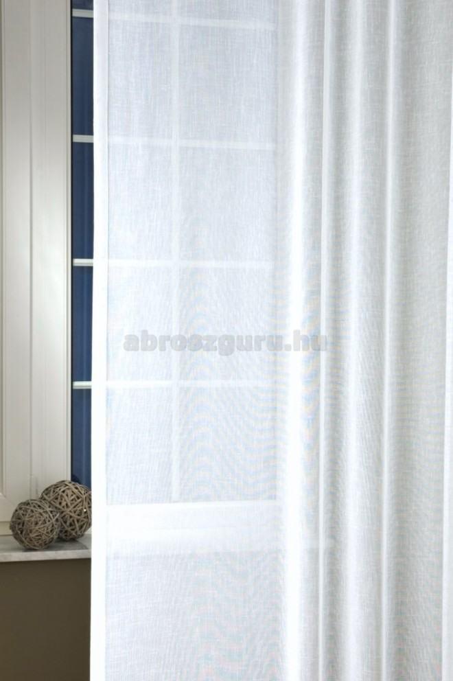 Lara sable-Fehér átlátszó függöny