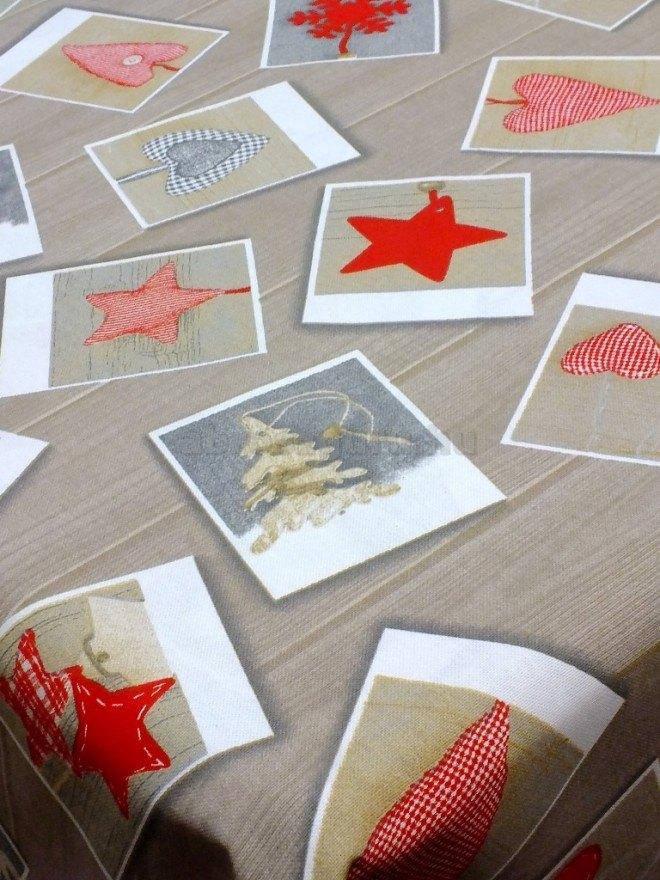 Memories karácsonyi pamutvászon terítő