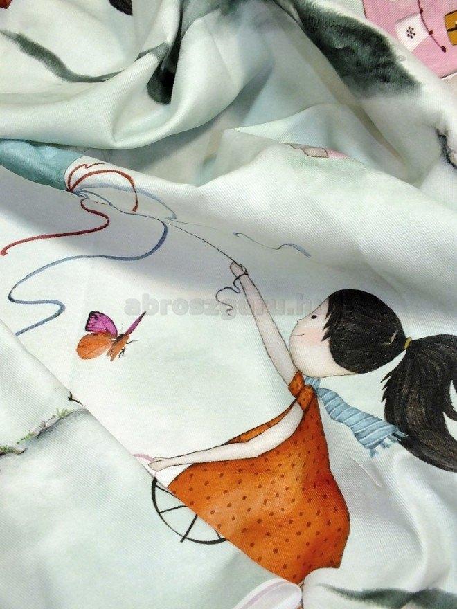 Twister Bambina gyerekmintás dekor-A05 függöny elkötő