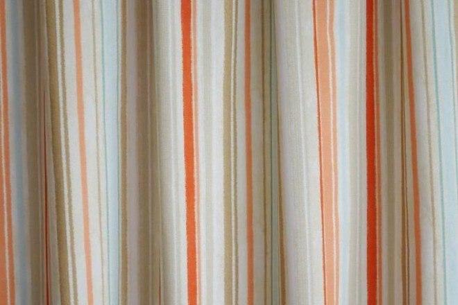 Twister Deville csíkos festett pamutvászon-B25